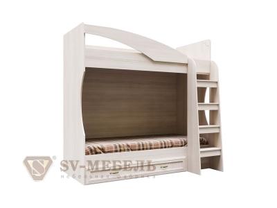 Кровать двухъярусная с ящиком Вега СВ ДМ-16