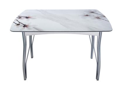 Стол обеденный Магнолия на мраморе