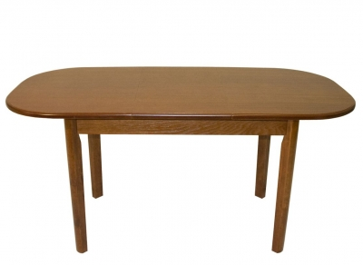 Стол обеденный овальный раздвижной ВМ30 дуб 1200 Логарт
