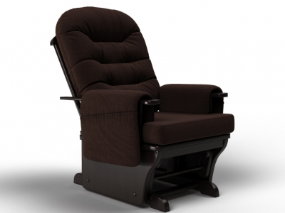 Кресло-качалка Венеция-глайдер шоколад